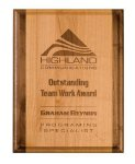 Genuine Red Alder Plaque Engraved Plaques | Custom