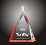 Multi Faceted Pyramid Acrylic Award Executive Acrylic Awards