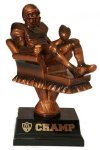 Armchair Quarterback Fantasy Football Trophy Fantasy Football Trophies