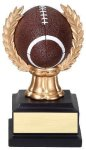 Wreath Sport Ball Football Full Color Wreath Resin Trophy Awards