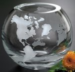 Windermere Global Bowl Globe Crystal Awards