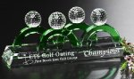 Foursome Award Golf Glass and Crystal Awards