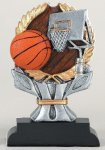 Basketball Impact Series Impact Series Resin Trophy Awards