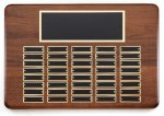 Walnut Perpetual Plaque Medium Perpetual Plaques