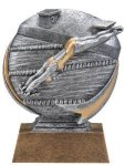 Motion X  Swimming 3-D Motion X Action 3D Resin Trophy Awards