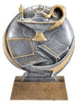 Motion X Lamp Of Knowledge 3-D Motion X Action 3D Resin Trophy Awards