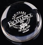 Dome Paper Weight Paperweight Crystal Awards