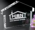 House Paper Weight Paperweight Crystal Awards