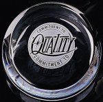 Slant Top Paper Weight Paperweight Crystal Awards