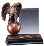 Eagle With Glass Patriotic Awards