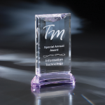 St. Germain Purple Optical Crystal Awards