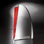 Destiny Red Optical Crystal Awards