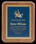 Plaque with Diamond Plate Award Religious Awards