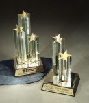 Star Burst Double Star Star Acrylic Awards