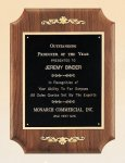 American Walnut Plaque with Decorative Accents Walnut Plaques